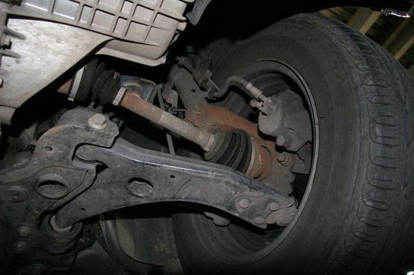Ремонт передней подвески пежо 307