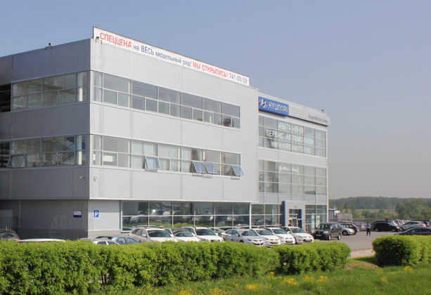 автосалон Корея Моторс Север