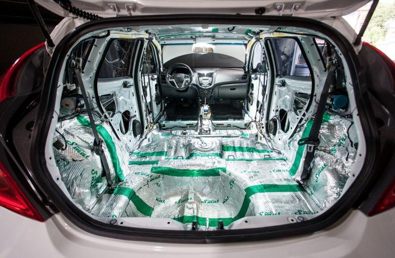 50Изготовление шумоизоляции подручных средств для авто