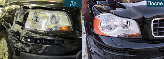 Покраска детали автомобиля в городе Москва - Портал выгодных покупок BLIZKO.ru